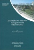 New Models for Innovative Management and Urban Dynamics